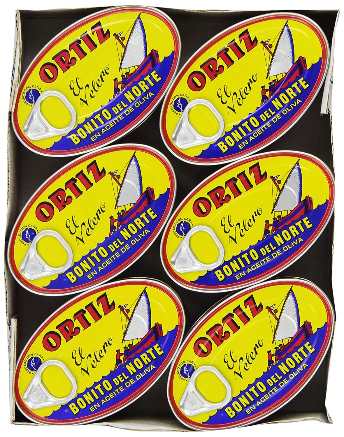 Ortiz Bonito Del Norte Tuna In Olive OIl 3.95 oz Oval Tin