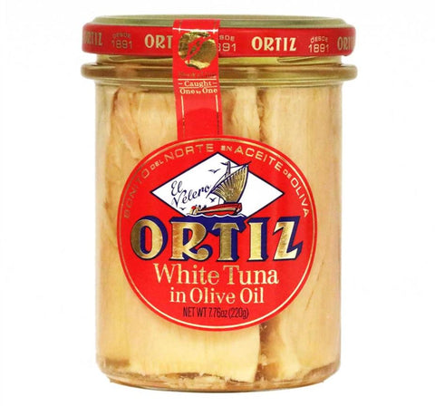 Ortiz - White Bonito Tuna in Olive Oil, 220g Jar