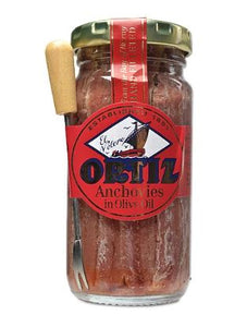 Ortiz Anchoas Anchovies 3.35 oz