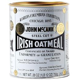 McCann's Irish Steel Cut Oatmeal