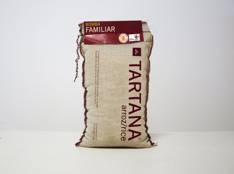 Tartana Limited Edition D.O Bomba Rice Cloth Bag 1kg
