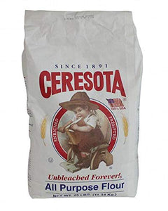 Ceresota Unbleached Forever All Purpose Flour 25lb bag