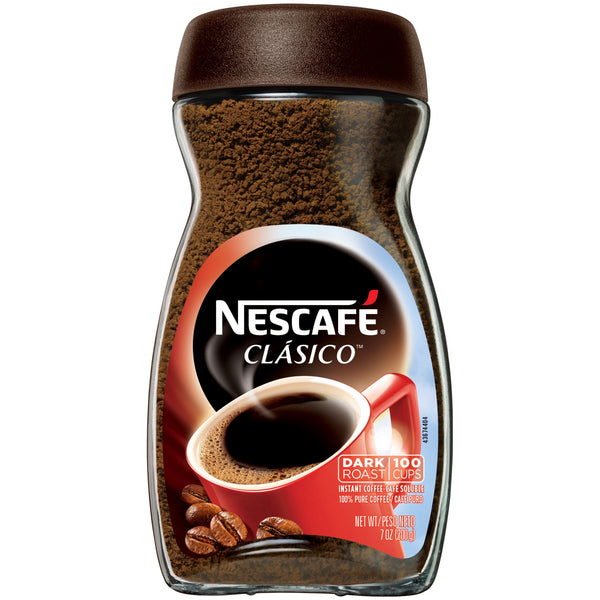 Nescafé Clasic Pure Instant Coffee, Dark Roast