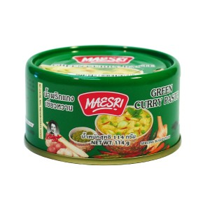 Maesri Green Curry Paste