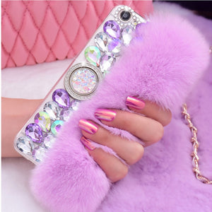 Pre- Order Real Rabbit Fur Case