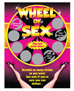 Wheel Of Sex Scratchers