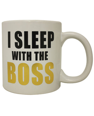 Attitude Mug I Sleep With The Boss
