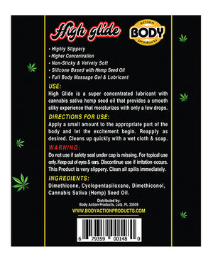 High Glide Erotic Lubricant