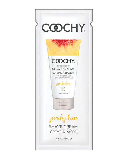 Coochy Shave Cream - .5 Oz Peachy Keen