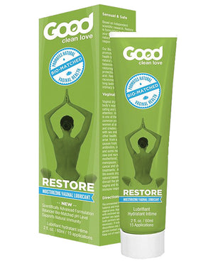 Good Clean Love Bio Match Restore Moisturizing Personal Lubricant - 2 Oz