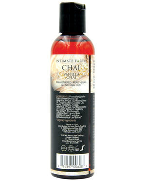Intimate Earth Chai Massage Oil -Vanilla & Chai