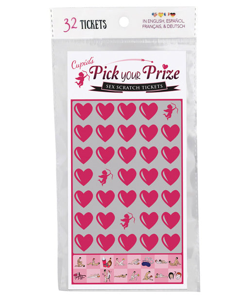 Cupids Pick Your Prize Sex Scratch Tickets - Pack Of 32