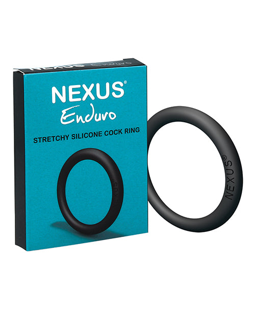 Nexus Enduro Silicone Cock Ring - Black