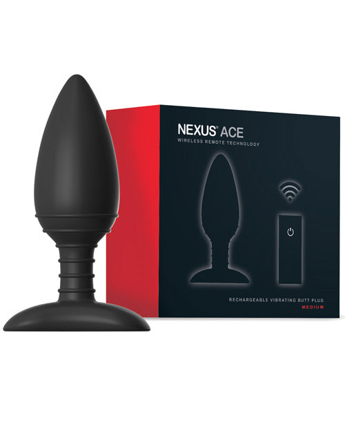 Nexus Ace Remote Control Medium Butt Plug
