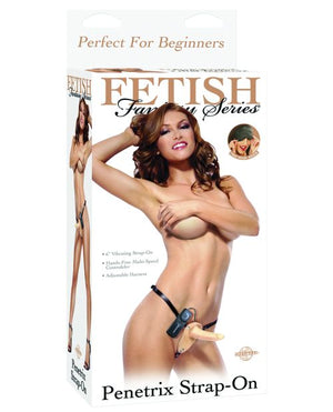 "Fetish Fantasy Series 6"" Vibrating Penetrix Strap-on"