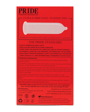 Pride Feather Thin Condoms