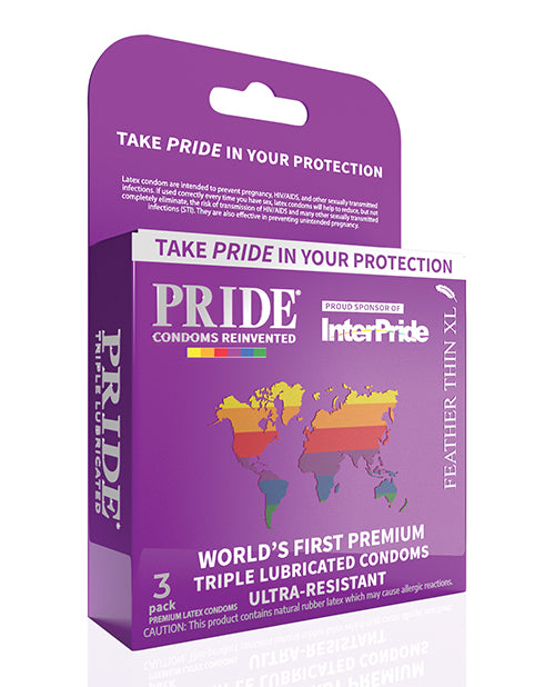 Pride Feather Thin Xl Condoms