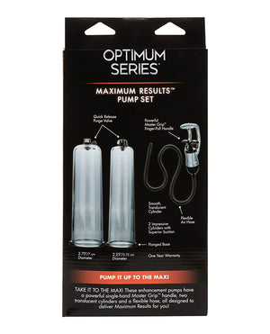 Optimum Series Maximum Results Pump Set