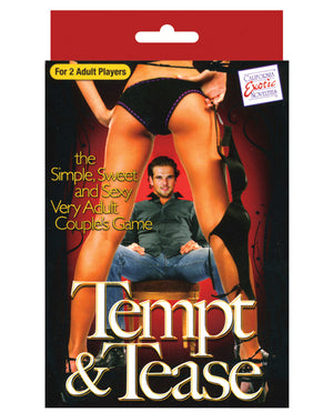 Tempt & Tease Card Game
