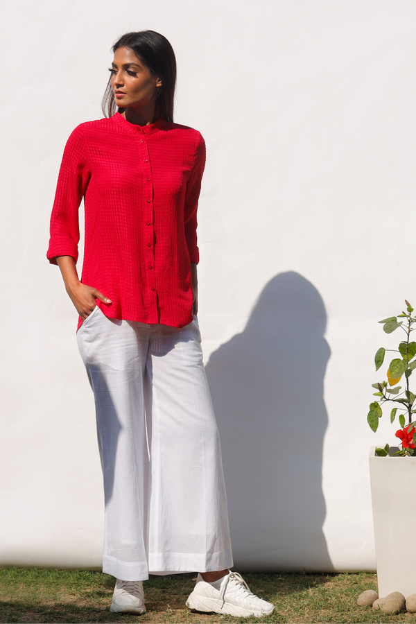 Bougainvillea Airy Shirt