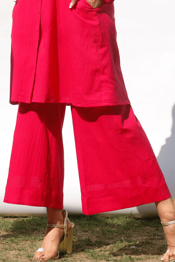 Bougainvillea Flared Pants