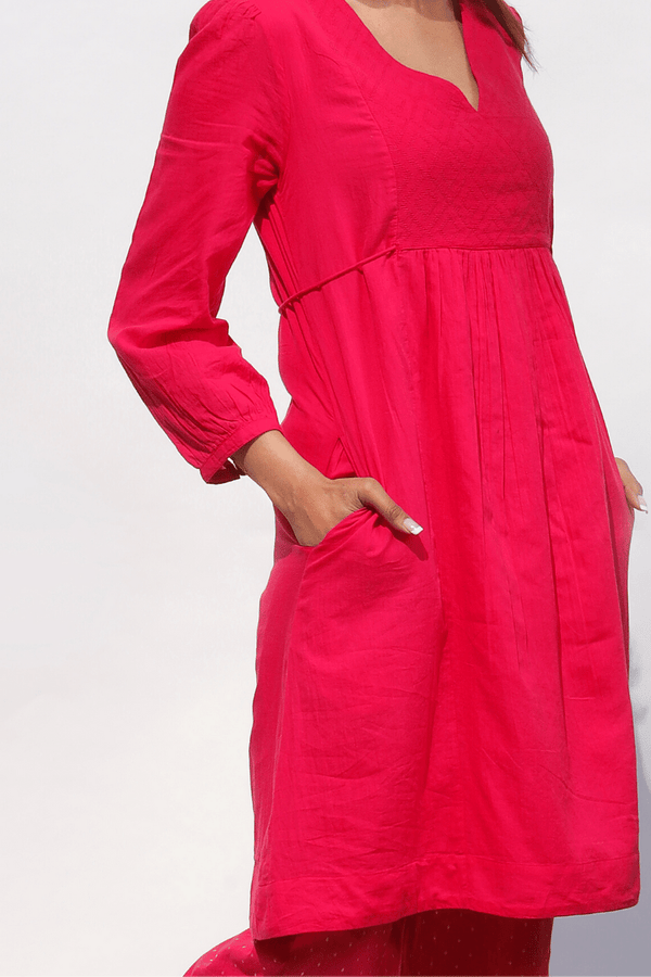 Bougainvillea Jaq Panel Kurta