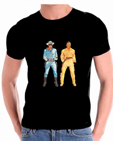 THE LONE RANGER AND TONTO T SHIRT FOR MEN TOP SELLER