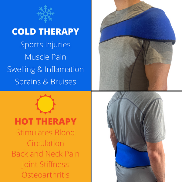 Neoprene Hot & Cold Compress Gel Pack