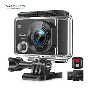 VanTop Moment 3 4K Action Camera Underwater Waterproof Camera  with 170° Wide Angle Outdoor Mini  WiFi Video Sports Mini Camera