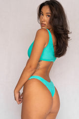 Ana Two-Piece Bikini Set - Turquoise