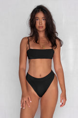 Cinta Two-Piece High Waist Bikini Set - Dusk