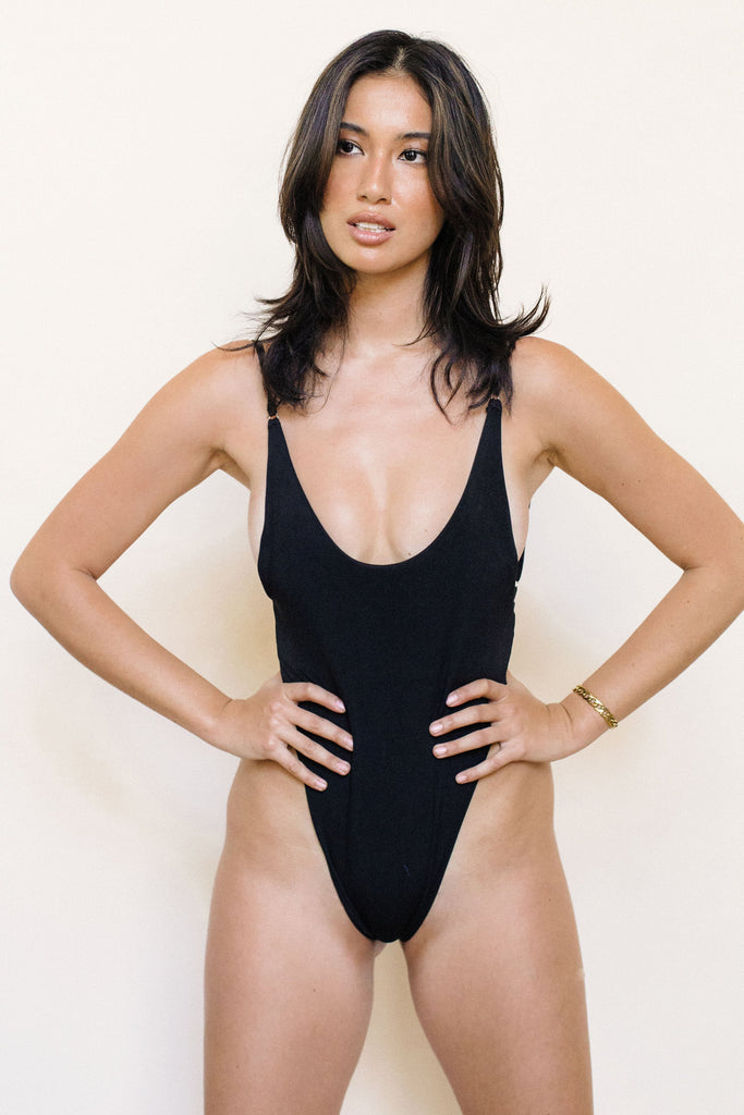 Blanca One-Piece Swimsuit - Black