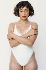 Blanca One-Piece Swimsuit - Ivory