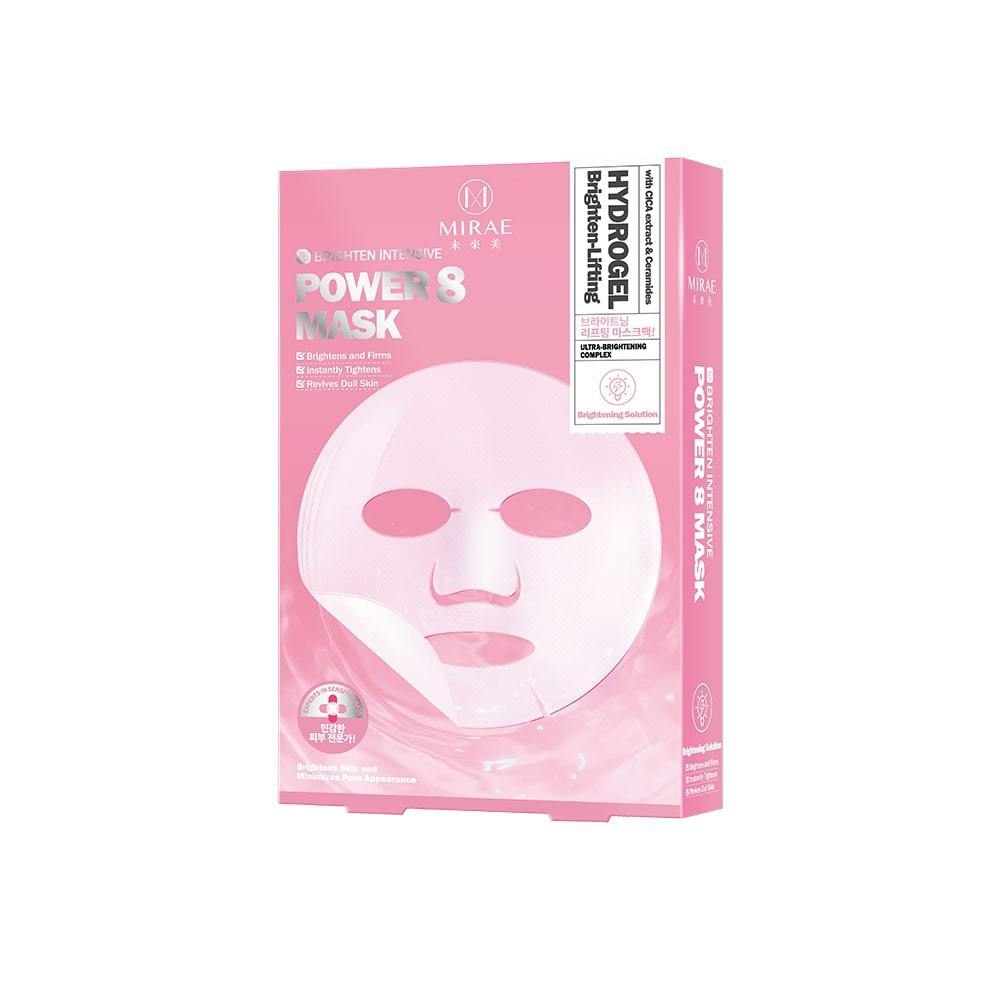 Mirae Power 8 Brighten-Lifting Hydrogel Mask 3s - iQueen.sg