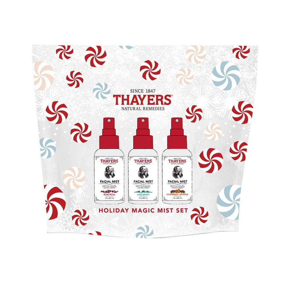 Thayers Magic Mist Toner Set 89ml (3oz.) (Rose + Unscented + Cranberry Orange) - iQueen.sg