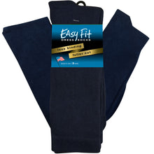 Load image into Gallery viewer, Easy Fit Over the Calf Dress Socks - Navy