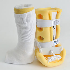 Extra Wide Medical Crew Socks Under Cast