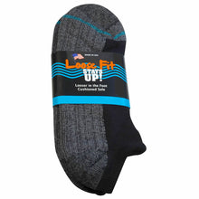 Load image into Gallery viewer, Loose Fit Stays Up Cotton Casual No Show Socks - Black