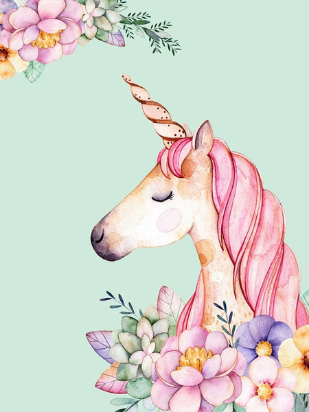 Unicorn DIY Paint By Numbers Kits UK Creative Wall Art DIY Handmade Gift Home Decor