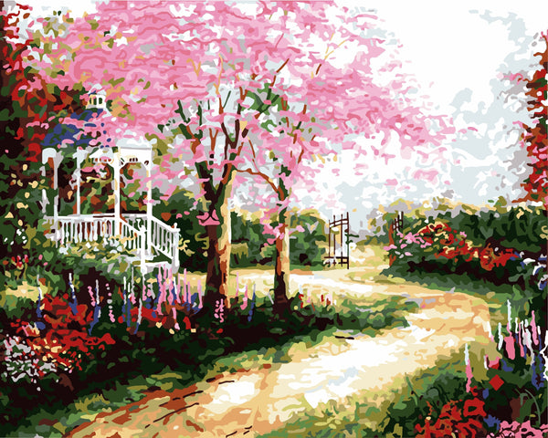 Fantasy Path DIY Paint By Numbers Kits Creative Wall Art DIY Handmade Gift Home Decor