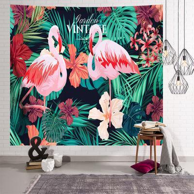 Custom Tapestry Flamingo Tapestry Wall Decor Hanging Tapestry