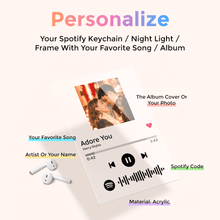 Personalized Gifts Custom Spotify Code Music Plaque