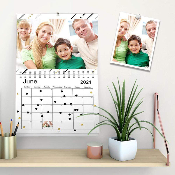 Custom Wall Calendar Album Calendar Home Decoration Warm Family