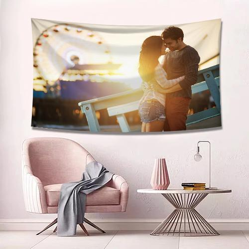 Baby Photo Tapestry Wall Art Home Decor Hanging Painting