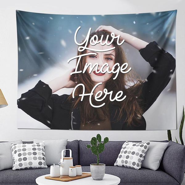 Photo Tapestry Wall Art Home Decor Hanging Painting