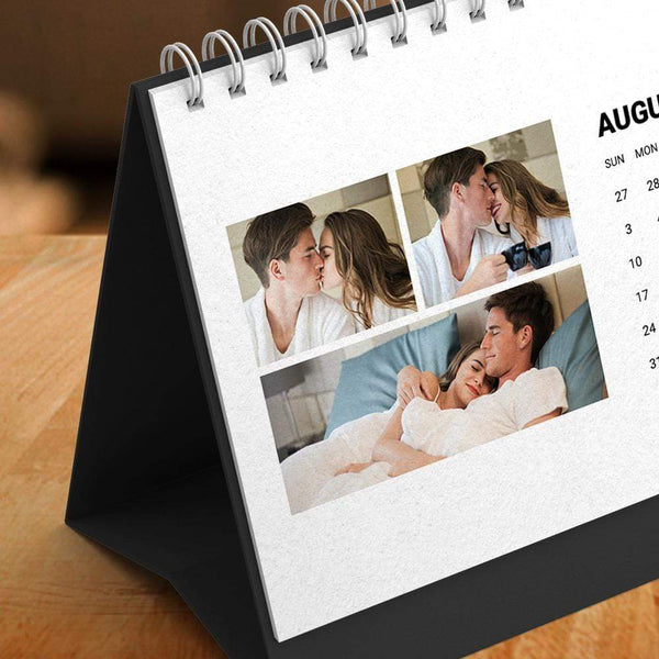 Custom Classic Photo Desk Calendars Sweet Memories Gift