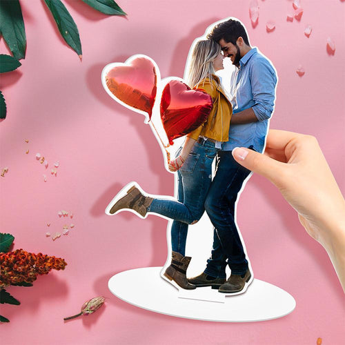 Custom Figures Acrylic Model Couple Figures Acrylic Model  Acrylic Desk Decoration Whole Body