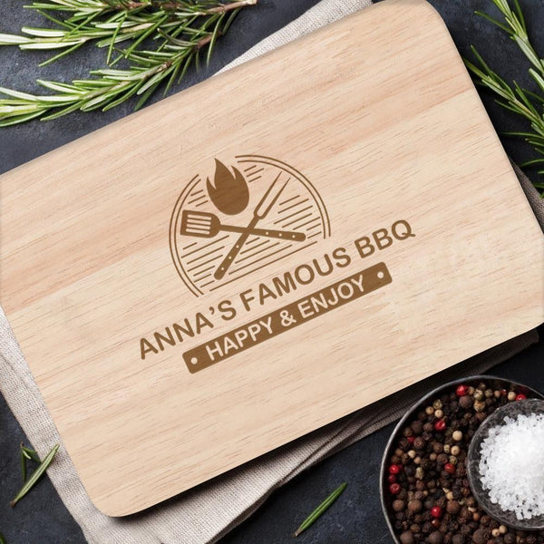Personalized Cutting Board Custom Text Cutting Board Cheese Board Chopping Board Gift for Family