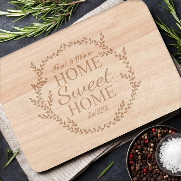 Personalized Cutting Board Custom Text Cutting Board Cheese Board Chopping Board Sweet