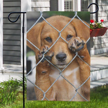 Father's Day Gift Custom Garden Flag Outdoor Photo Garden Flag  (12in x 18in)